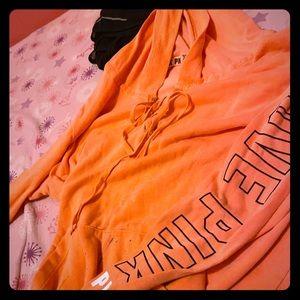 Victoria secret love pink sweater
